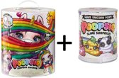 Poopsie Unicorn Slime Surprise - Roze / Rainbow eenhoorn + Uitbreidingsset