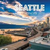 Seattle Calendar 2020: 16 Month Calendar