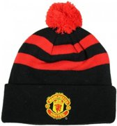 Manchester united Muts pompon zwart rood
