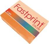 Kopieerpapier Fastprint A4 80 gram oranje 500 vel
