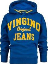 Vingino Jongens Sweater - Capri Blue - Maat 176