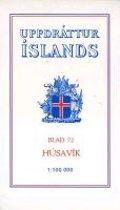 Topographische Karte Island 72 Husavik 1 : 100 000