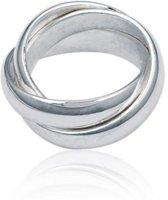 Classics&More Zilveren Ring - Maat 60 - 5 mm - Cartier