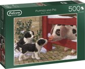 Falcon Puppies and Pig 500pcs