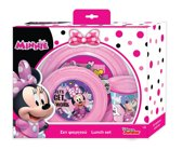 Disney Eetset Minnie Mouse Roze 3-delig