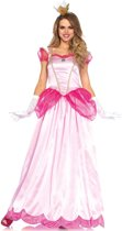 Classic Peachy Pink Princess kostuum - S - Roze - Leg Avenue