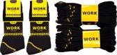 Work werk sokken 10 paar zwart maat 39-42