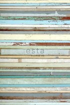 vlies photowallXL scrap wood  - 158004 ESTAhome.nl