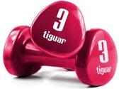 Tiguar dumbbells 3 kg (set van 2)