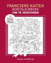 Franciens katten kerstkleurboek om te versturen