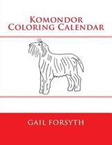 Komondor Coloring Calendar