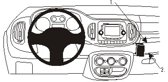 Brodit ProClip 854881 angled mount - Fiat 500L PopStar 2013-2019
