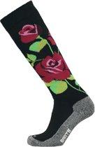 Barts Skisock Roses - Ski Sokken - Maat 39-42 - Black