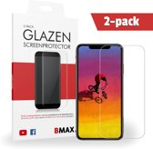 2-pack BMAX iPhone XS Max Glazen Screenprotector | Beschermglas | Tempered Glass