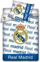 Real Madrid C.F. Dekbedovertrek Dekbedovertrek - eenpersoons - 140x200 cm