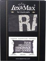 Lex & max unclassified losse hoes voor hondenkussen rechthoek  100x70cm grijs