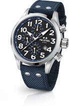 TW Steel Volante VS34 Heren Horloge Blauw 48mm Chrono