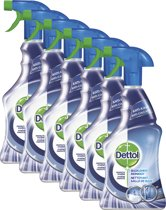 Dettol Allesreiniger Power & Pure Badkamer spray - 6 x 500ml