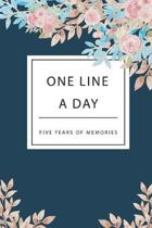 One Line a Day Five Years of Memories