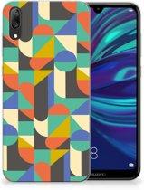 Huawei Y7 Pro (2019) TPU bumper Funky Retro