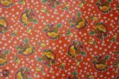 Atelier Du Baj Pineapple Orange Mexicaans Tafelzeil - 250 x 120 cm