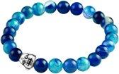 Fako Bijoux® - Buddha Armband - Smile - Aqua