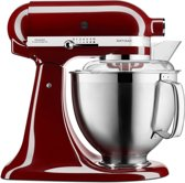 Kitchenaid Artisan keukenrobot 4.8L 5KSM185PS bordeaux rood