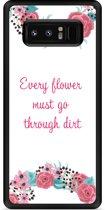 Galaxy Note 8 Hardcase Hoesje Every Flower