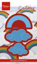Creatables Rainbows & Clouds