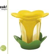 Zak!Designs Tea Story - Thee Filter met Houder - Bloem - Geel