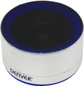 Denver BTS-32Silver, draadloze bluetooth speaker