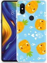 Xiaomi Mi Mix 3 Hoesje Love Ananas