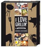 I love Grillin Geschenkpakket - Receptenboek - 22 x 29 x 5cm