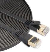 Internetkabel van By Qubix - 5 meter - zwart -  CAT7 ethernet kabel - RJ45 UTP kabel met snelheid 1000mbps - Netwerk kabel van hoge kwaliteit!