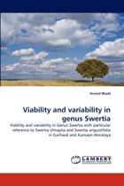 Viability and Variability in Genus Swertia