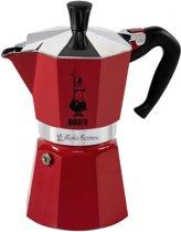 Bialetti Espressomaker - Moka Express - 6 kops - rood