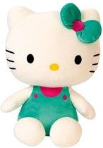 Jemini Hello Kitty Knuffel Pluche Meisjes Groen 30 Cm