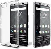 BlackBerry KEYone hoesje - Soft TPU case - transparant