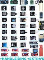 Arduino sensor module starter kit 45 delig in 1 | Uno R3 mega 2560 nano V2