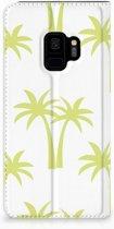 Samsung Galaxy S9 Uniek Standcase Hoesje Palmtrees