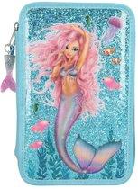 Fantasy model 3-vaks etui gevuld mermaid