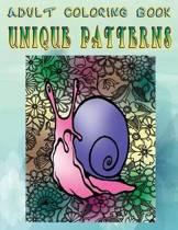 Adult Coloring Book Unique Patterns
