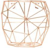 TAK Design Thanwa Mand S - Wandbevestiging - Metaaldraad - 15 x 9,8 x 13 cm - Koperkleurig
