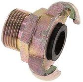 Gietijzer DN 20 DIN 3498 compressor klauwkoppeling - CL42-20-M-IN-100