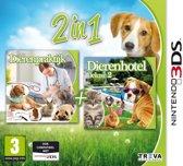 Mijn Dierenpraktijk + Mijn Dierenhotel Deluxe 2  3DS