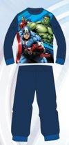 Avengers pyjama - maat 98 - blauw