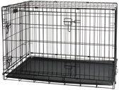 Pawise Wire Dog Crate - 78 x 48 x 55 cm