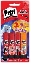 Pritt Stick Neon - 4x11 Gram - Pritt Stift