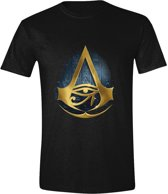 Assassin's Creed: Origins - Hyroglyphics Logo Men T-Shirt - Zwart - Maat M