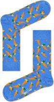 Happy Socks Carrot Sokken - Lichtblauw - Maat 41-46